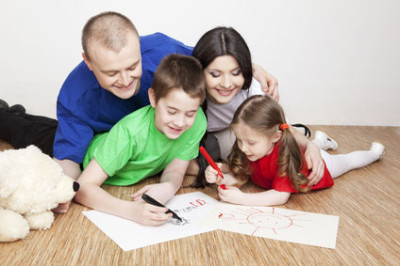 family-drawing-pictures