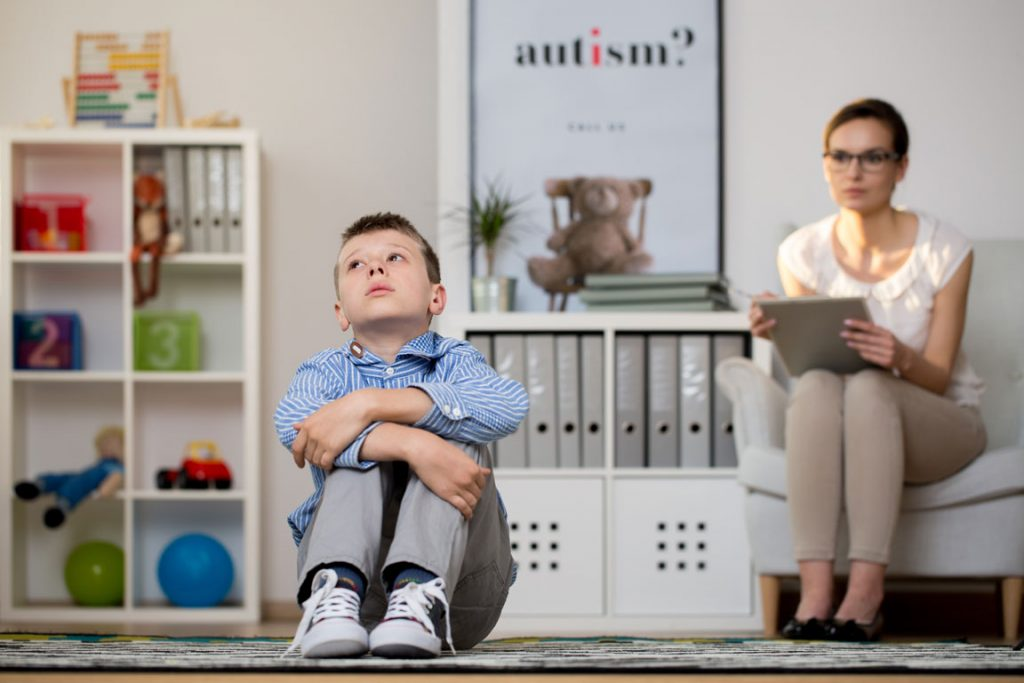speech therapy - autism